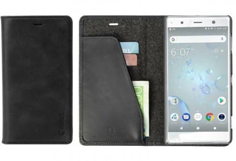 Krusell Folio Wallet Tasche Smart Hülle Case Cover für Sony Xperia XZ2 Premium