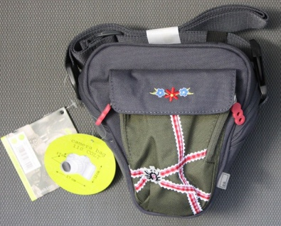 aha Kamera-Tasche Colt Resi 110 grau Case für DSLR SLR Kamera Bag Foto-Tasche
