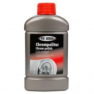 RS1000 Chrom-Politur 250ml Chrom-Reiniger Pflege Schutz Auto Polier-Paste PKW