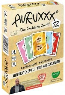 Auruxx Die Goldene 12 Kartenspiel Gesellschafts-Spiel Spieleabend Familien-Spiel