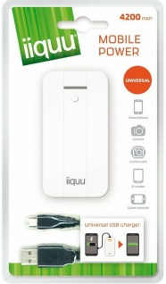 GP 4200mAh Power-Bank Externer Zusatz-Akku USB Ladegerät Batterie Handy Tablet