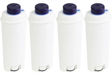 4x ScanPart Wasserfilter Kaffeevollautomat passend für DeLonghi DLSC002 SER-3017