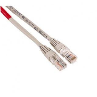 Hama 3m Cross-Over Netzwerk-Kabel Cat5e UTP Lan-Kabel Cat 5e Gigabit Ethernet