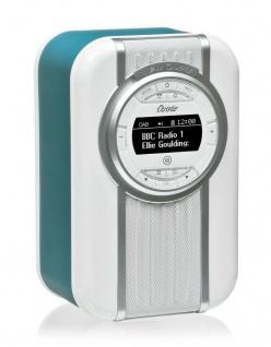 VQ Retro Digital-Radio Christie DAB DAB+ FM Bluetooth Weckfunktion AUX Wecker