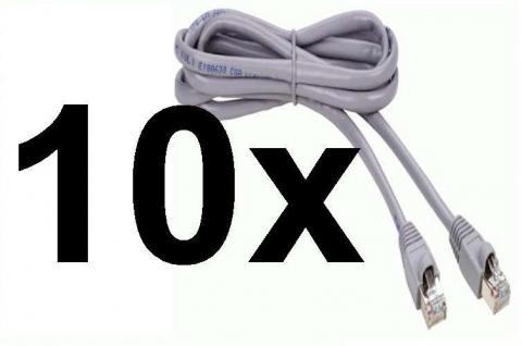 10x PACK Thomson Cat5e 0, 5m Patch-Kabel Netzwerk-Kabel UTP Cat. 5e 5 Lan-Kabel - Vorschau 1