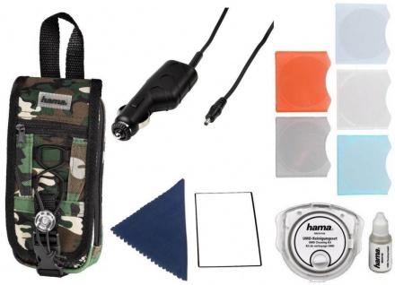 PSP Mega PACK Tasche Kfz Ladekabel Game-Cases Folie .. für PSP Classic Slim&Lite