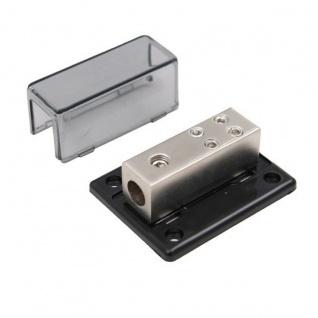 AIV 12V Strom-Kabel Verteiler-Block 1:4 1x 20mm² 4x 10mm² Auto KFZ Verstärker