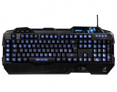 Hama uRage Exodus USB Gaming Keyboard Tastatur Beleuchtet Macro-Keys Anti-Ghost