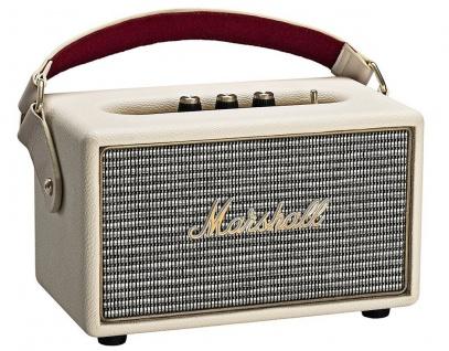 Marshall Kilburn Cream Bluetooth Lautsprecher BT Speaker Retro Boxen Aktiv Box