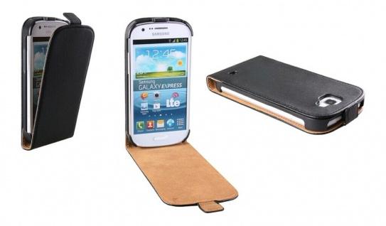 Patona Slim Flip Klapp-Tasche Schutz-Hülle Case für Samsung Galaxy I8730 Express