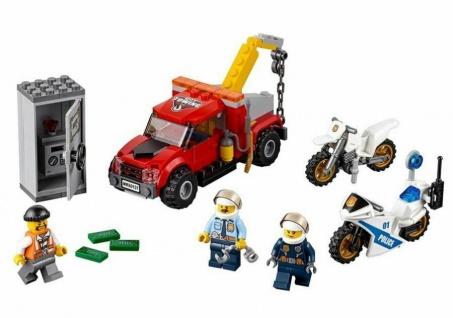 LEGO City 60137 Abschleppwagen Verbrecher-Jagd Polizei Verfolgung Spielzeug-Set