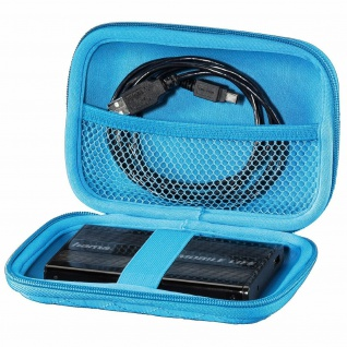 "Hama Tasche Hard-Case 2, 5"" HDD externe Festplatte Festplatten-Tasche Etui Hülle"