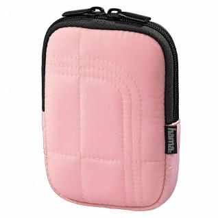 Hama Kamera-Tasche Fancy Memory 60C Foto-Tasche Pink für Digital-Kamera Digicam