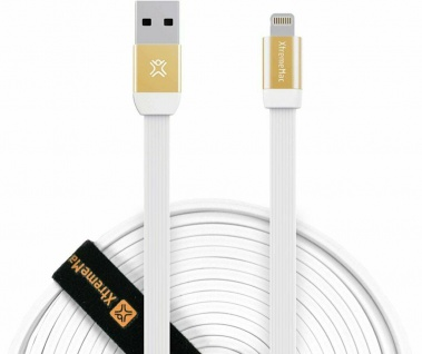 XtremeMac HQ Premium Lightning-Kabel Cable 3m für iPhone X 8 7 6 SE iPad Pro Air