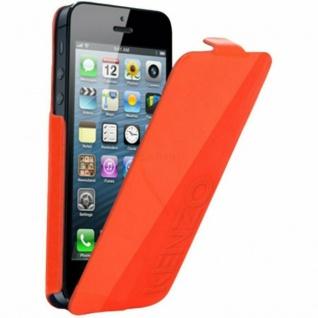 Kenzo Flip-Cover Klapp-Tasche Schutz-Hülle Case Etui für Apple iPhone 5 5s SE