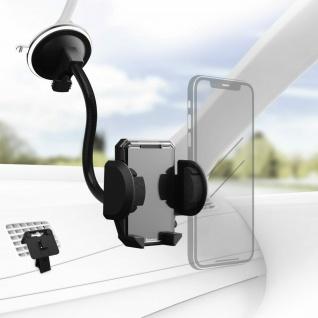 Hama Universal Klemm-Halterung Kfz Saugnapf Lüftung Auto für Smartphones 4-11cm