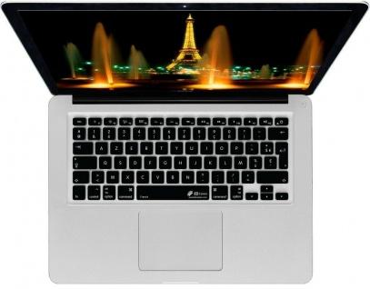 KB Tastatur-Abdeckung Frankreich FR Schutz-Cover Skin für MacBook Pro / Air