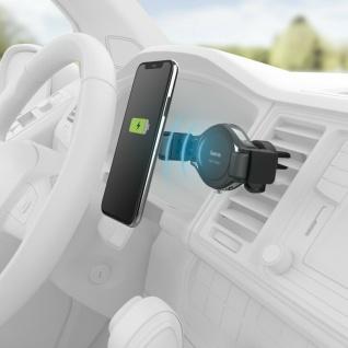 Universal Qi-Halterung Kabellos Ladegerät Lüftung Auto für Smartphones