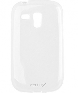 Cellux TPU Back Soft-Case Cover Schutz-Hülle Tasche klar für Galaxy S3 mini