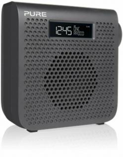 Pure One Mini Digital-Radio DAB DAB+ FM UKW Küchen-Radio mit Display Akku-Fach
