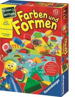 Ravensburger Farben und Formen Lern-Spiel Zuordnen Unterscheiden Vergleichen