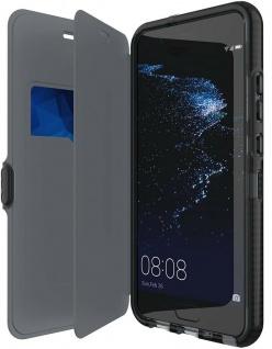 Tech21 Booklet Flip-Cover 3m Sturz Schutz-Hülle Tasche Hard-Case für Huawei P10