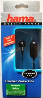 Hama Headset Voice für Nokia 6800 6230-i 6280 6288 6610 3300 5500 7710 7610 6100