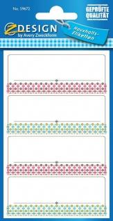Avery 120 Haushaltsetiketten Aufkleber Siegel Einmach-Etiketten Küchen-Etiketten