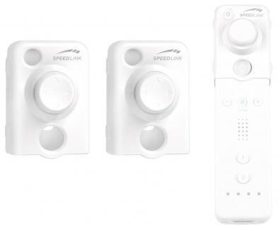 Speedlink 2x Stick Controller 3D Joystick Arcade Pad für Nintendo Wii Wiimote
