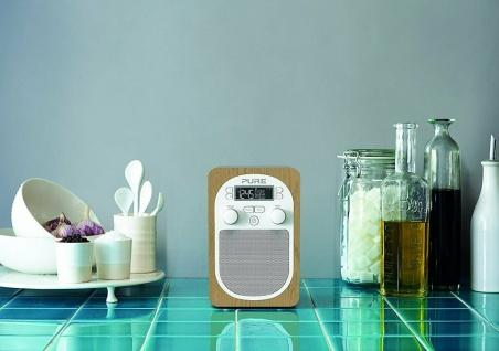 Pure Evoke H2 Digital-Radio DAB DAB+ FM UKW Küchen-Radio mit Display Wecker MP3 - Vorschau 3