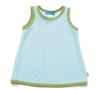Tragwerk Kleid Ana Nicki Eisblau Gr. 62 - 68 Baby Mädchen Babykleid Tunika Shirt