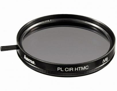 Hama Polarisations-Filter 62mm Pol-Filter circular HTMC-vergütet Foto DSLR etc