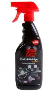Extreme Clean Cockpit-Reiniger Vanille 500ml Cockpit-Spray Pflege Kunststoff