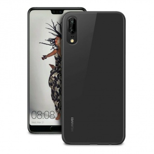 Puro Ultra Slim 0.3 Nude Cover TPU Case Schutz-Hülle Klar für Huawei P20
