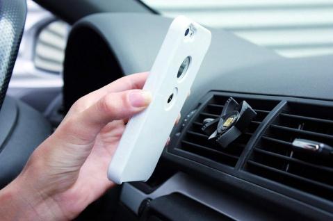 Tetrax Kfz Halterung Magnet-Adapter Handy-Halter + Cover Case für iPhone SE 5s 5