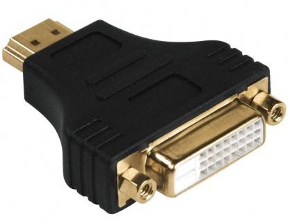 Hama HomeTheatre Adapter HDMI-Stecker DVI-D DVI-Kupplung Dual Link für TV PC TFT