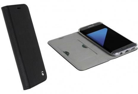 Krusell Folio Wallet Tasche Smart Schutz-Hülle Cover für Samsung Galaxy S7 Edge