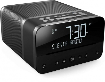Pure Siesta Home Digital-Radio Radio-Wecker Uhren-Radio DAB+ CD USB Bluetooth