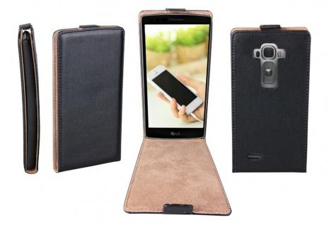 Patona Slim Flip-Cover Klapp-Tasche Schutz-Hülle Cover Case für LG G Flex 2