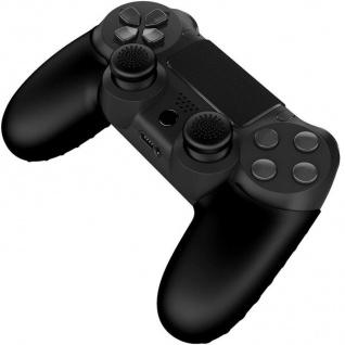 Gioteck Pack Grips Thumbstick Gummi Kappen Grip Caps Trigger für PS4 Controller