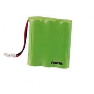 Hama Akku Batterie für AEG Liberty Flair Ascom Samsung Panasonic Sanyo Sigma etc