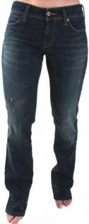 Original Levi's Jeans-Hose Damen 470 straight Tapered Women dunkelblau versch. G