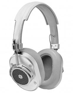 Master & Dynamic MH40 White Over-Ear Headset Kopfhörer Earphones 3, 5mm Klinke