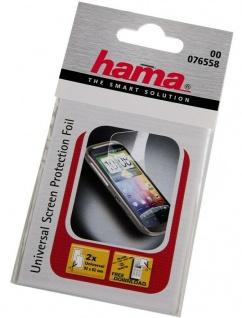 Hama Mobile Phone Universal Display-Schutzfolie Folie 92x62mm Handy Smartphone