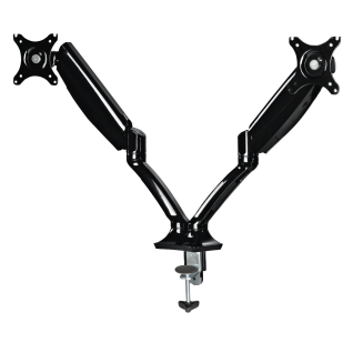 """Schreibtisch Arbeitsplatz Monitor-Arm Fullmotion für 2 Bildschirme 26"""" universal"""