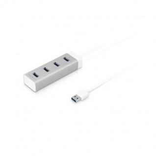 Macally USB 3.0 Hub 4-Port Verteiler Adapter Super-Speed für PC Notebook Mac ...