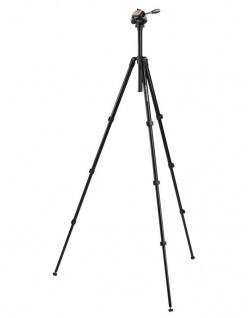 Hama Dreibein-Stativ Delta Pro 180 cm 2D Kamera-Stativ Foto-Stativ 2-Wege Kopf