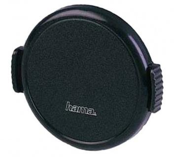 Hama Objektivdeckel Snap 62mm Aufsteck-Fassung schwarz Deckel Objektiv DSLR SLR