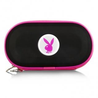 Playboy Hardcase Tasche BK für Sony PSP Slim&Lite Fat CB Street E1000 Hülle Etui