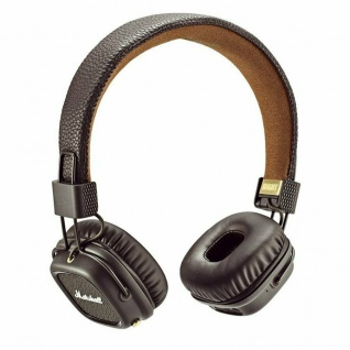 Marshall Major II Bluetooth On-Ear Headset Brown Studio BT Kopfhörer Headphones
